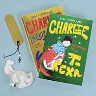 Pakiet Charlie - dwa tomy z dinozaurem | Sam Copeland