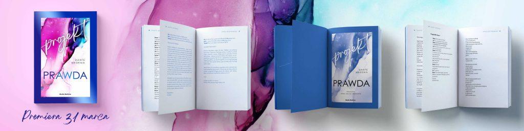 Książka Projekt Prawda, Dante Medema