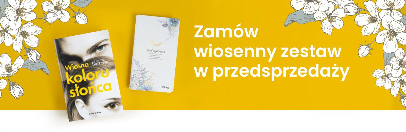 """Okładka książki """"Wiosna koloru słońca"""""""