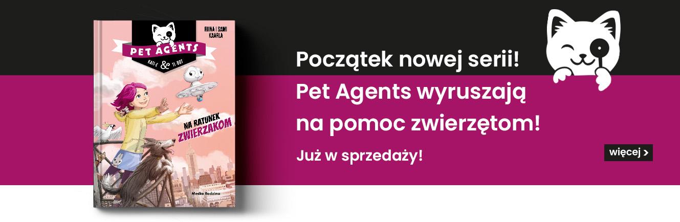 Nowa seria książek dla dzieci Pet Agents