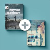 Pakiet książek dla miłośników thrillerów.Książki Piętno Katriny i Zanim się obudzę