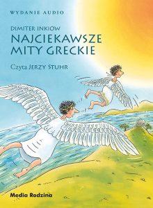 Książka Najciekawsze mity greckie audiobook