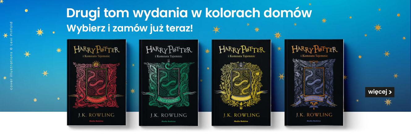 Harry Potter i Komnata Tajemnic - wydanie w kolorach domów